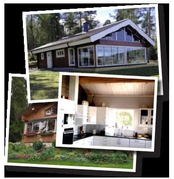 Färdiga timmerhus från Dalens Trä & Bygg